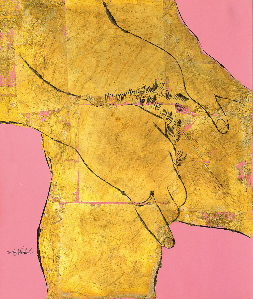 Andy Warhol and his early homo-erotic drawings