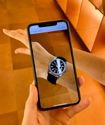 Essayez des montres de luxe en réalité virtuelle avec Browns Fashion