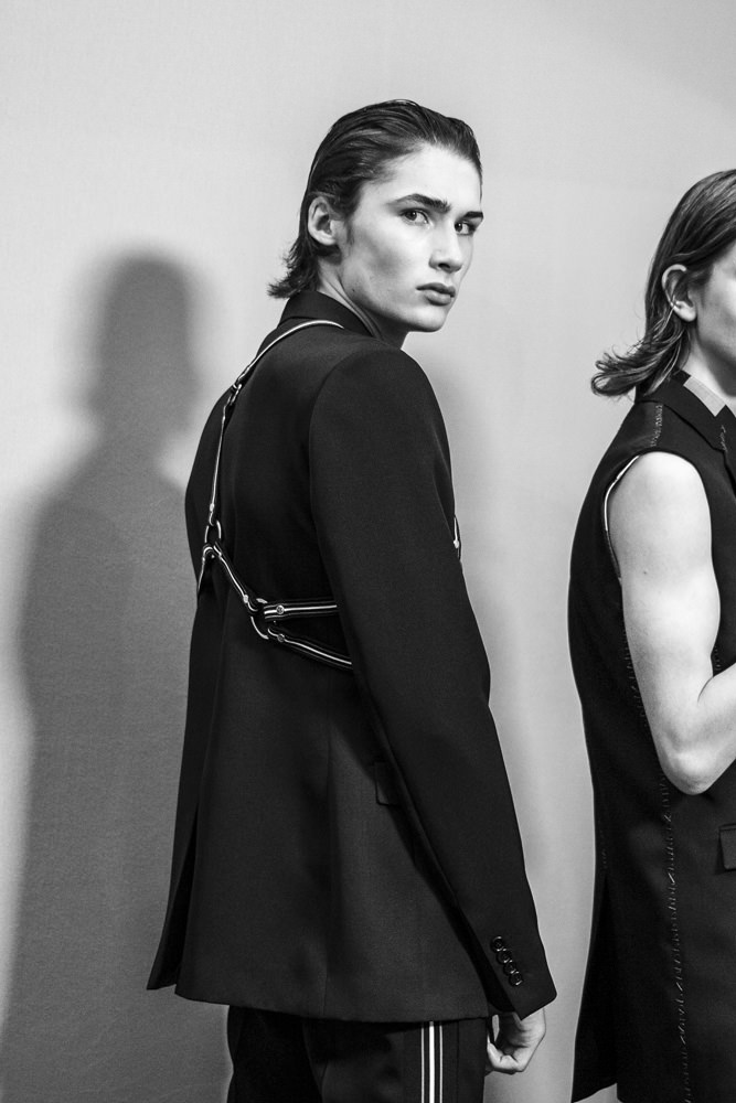 Backstage: Dior spring-summer 2017 show for men