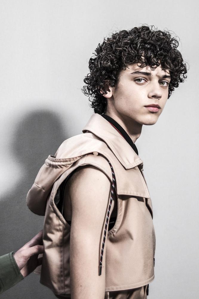 Backstage : le défilé Dior Homme printemps-été 2017
