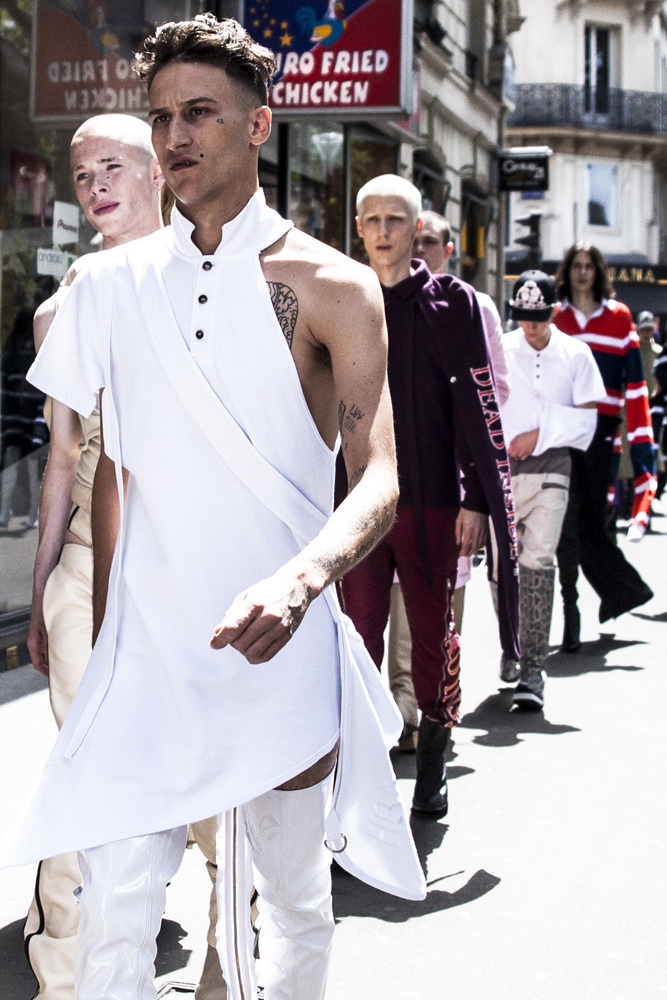Backstage: Hood By Air spring-summer 2017 show