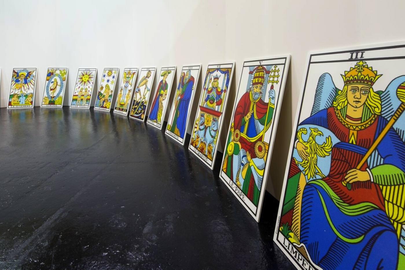 Première rétrospective de l'artiste fantasque Alejandro Jodorowsky au CAPC de Bordeaux