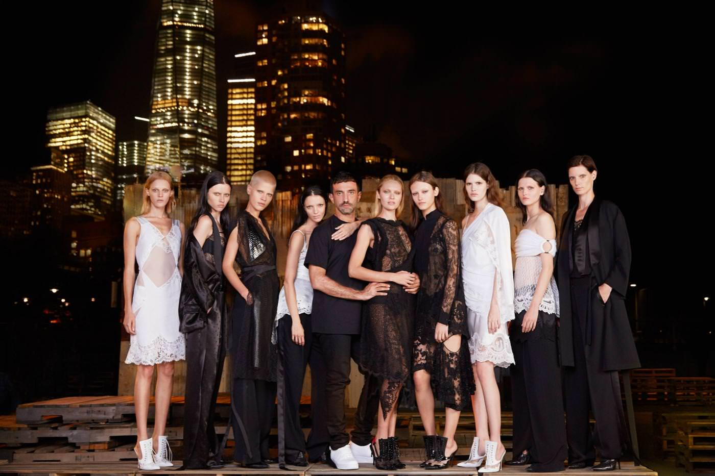 Riccardo Tisci's anniversary fashion show for Givenchy in New York