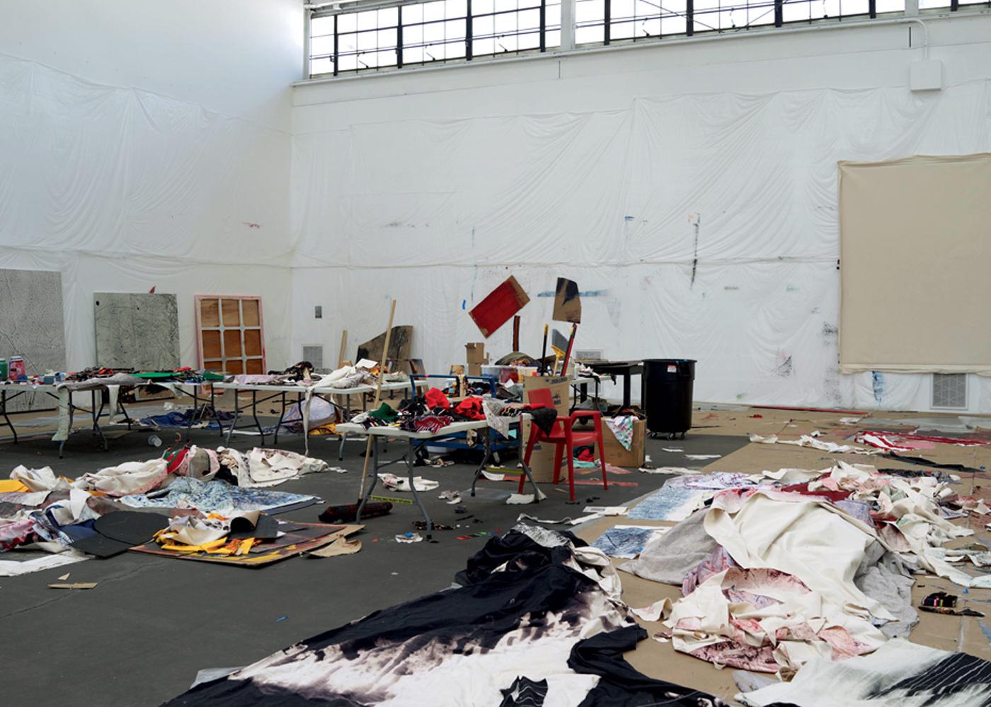 Rencontre avec Sterling Ruby à l'occasion de son exposition à la Gagosian Gallery à Paris