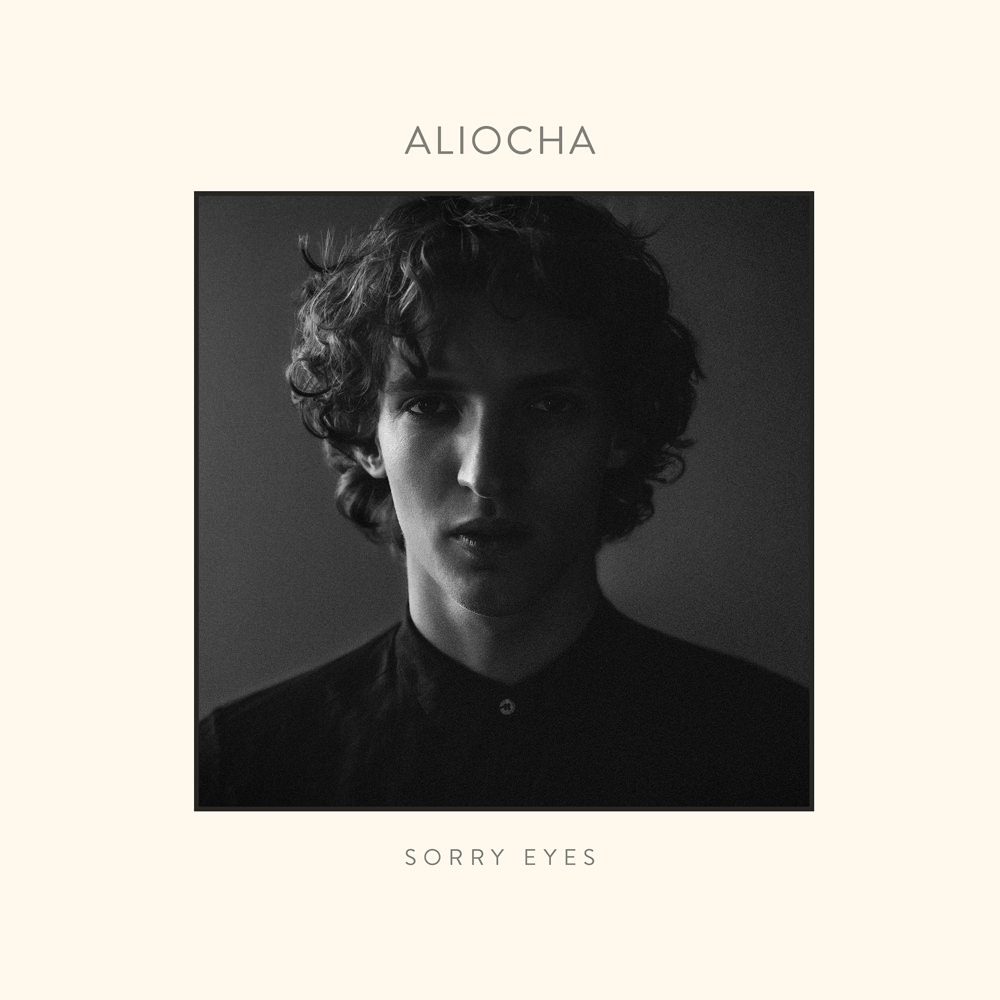 La cover du premier EP d'Aliocha, Sorry Eyes.