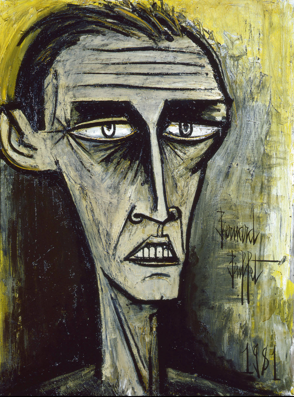 Autoportrait (1981), huile sur toile, 130x 97 cm.