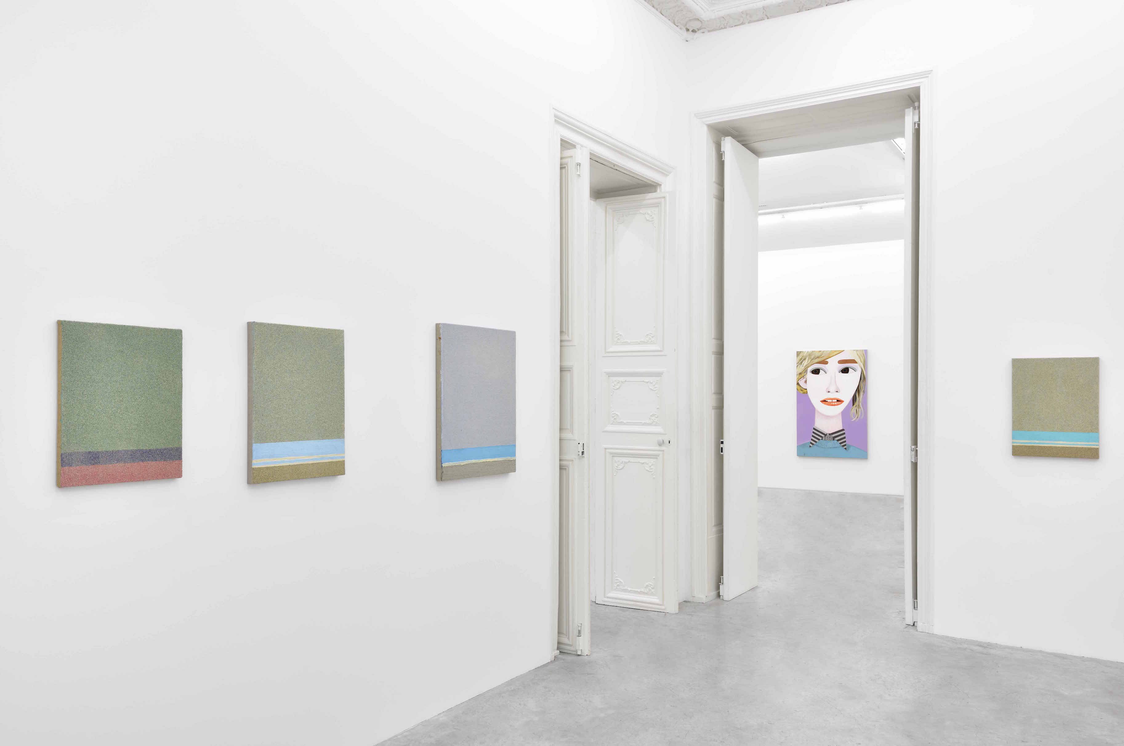 Les figures libres de Brian Calvin à la Galerie Almine Rech
