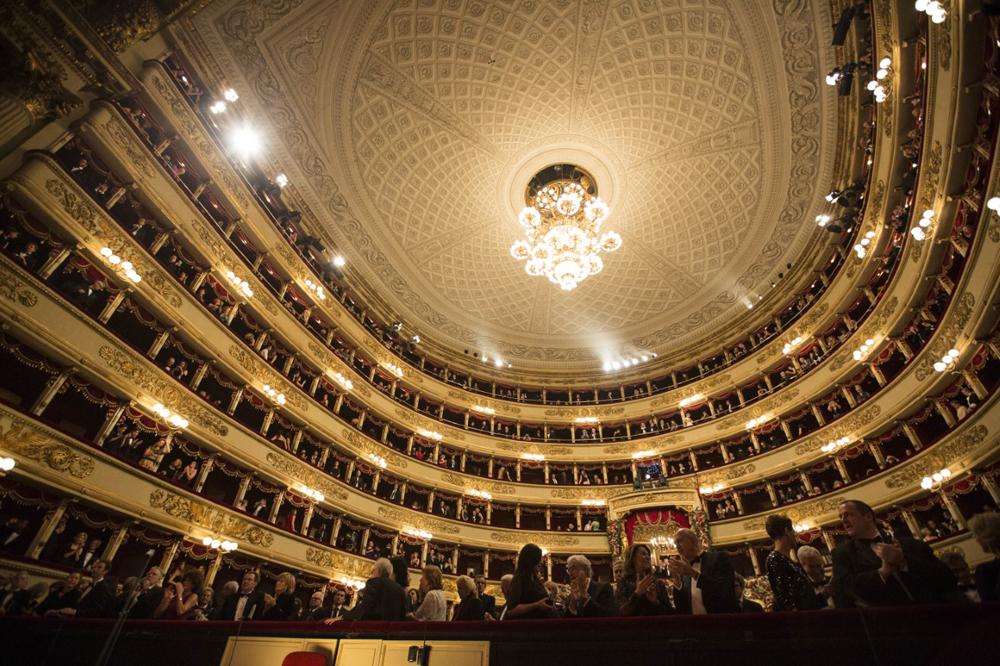 Donatella Versace's Milan