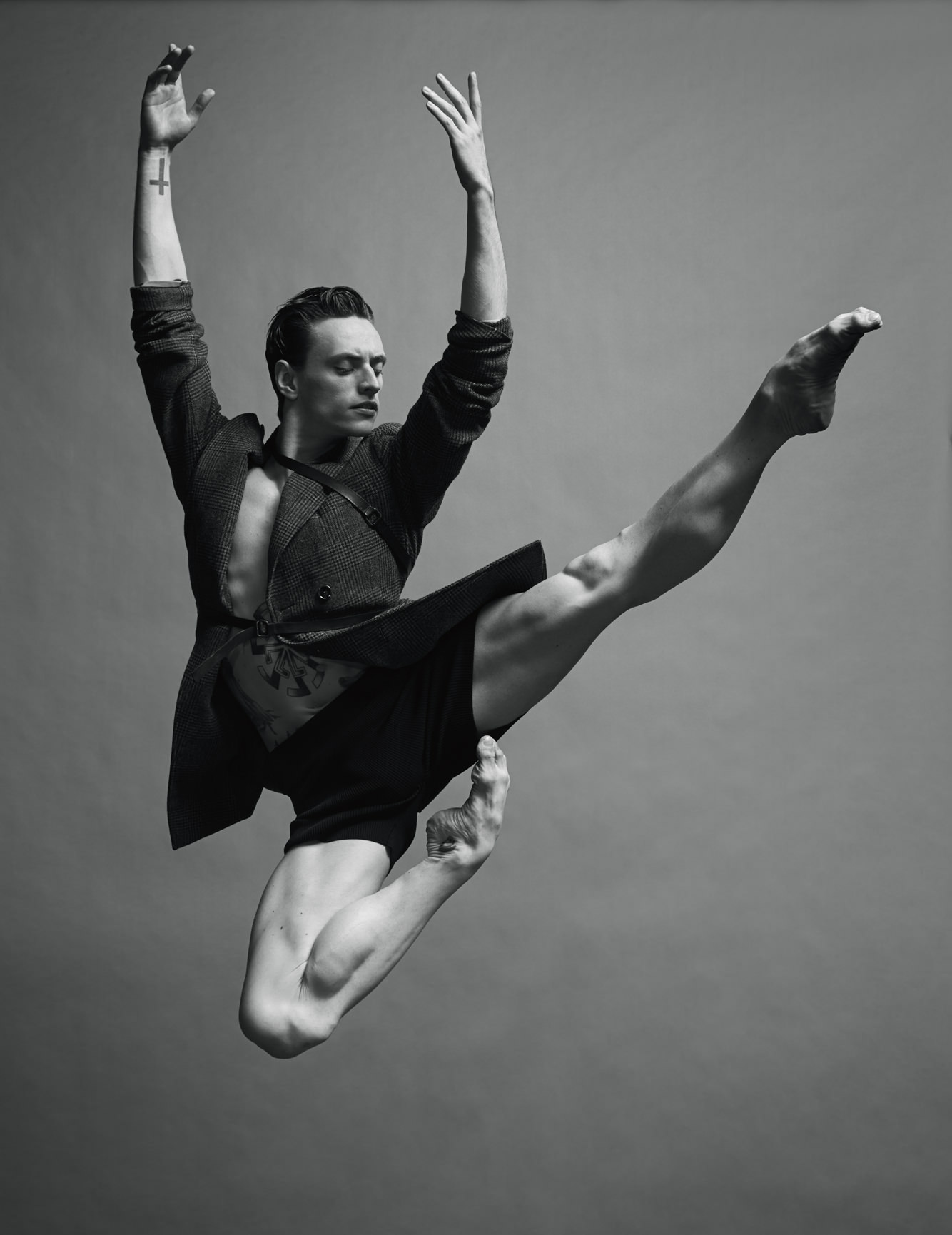 """I could have been an even better dancer if I hadn't spent every night in clubs taking so much coke."" Encounter with Sergei Polunin"