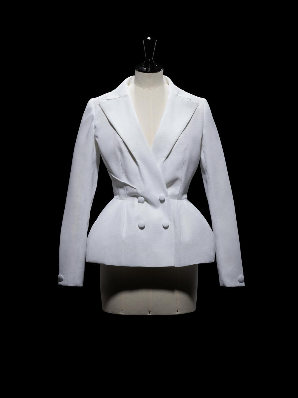 Toile d'une veste de la collection Haute Couture automne-hiver 2012. © Laziz Hamani