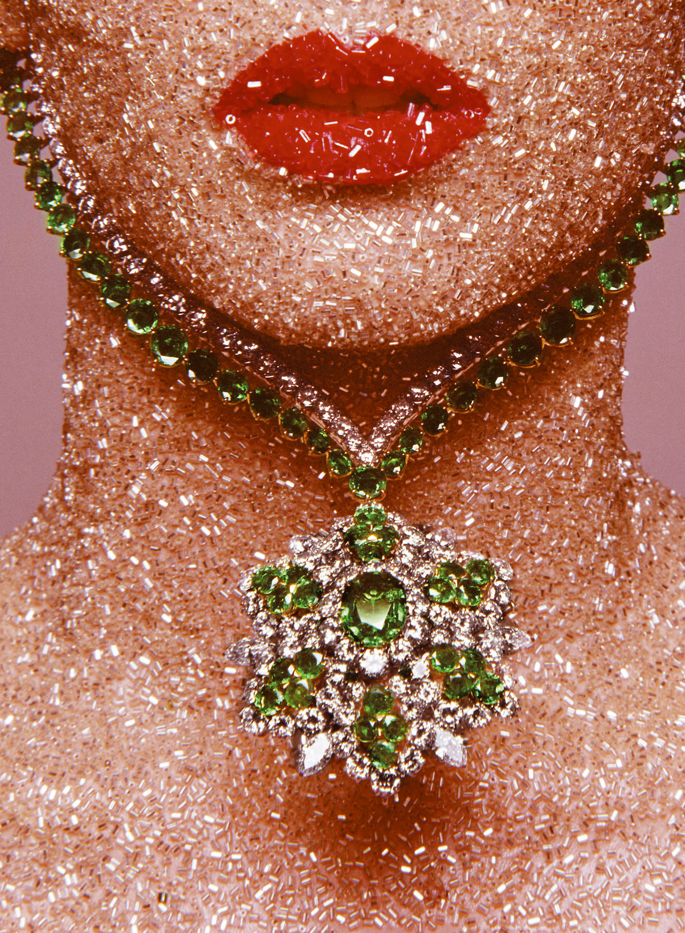 Van Cleef & Arpels, décembre 1969. The Guy Bourdin Estate, 2016. Courtesy of Art + Commerce