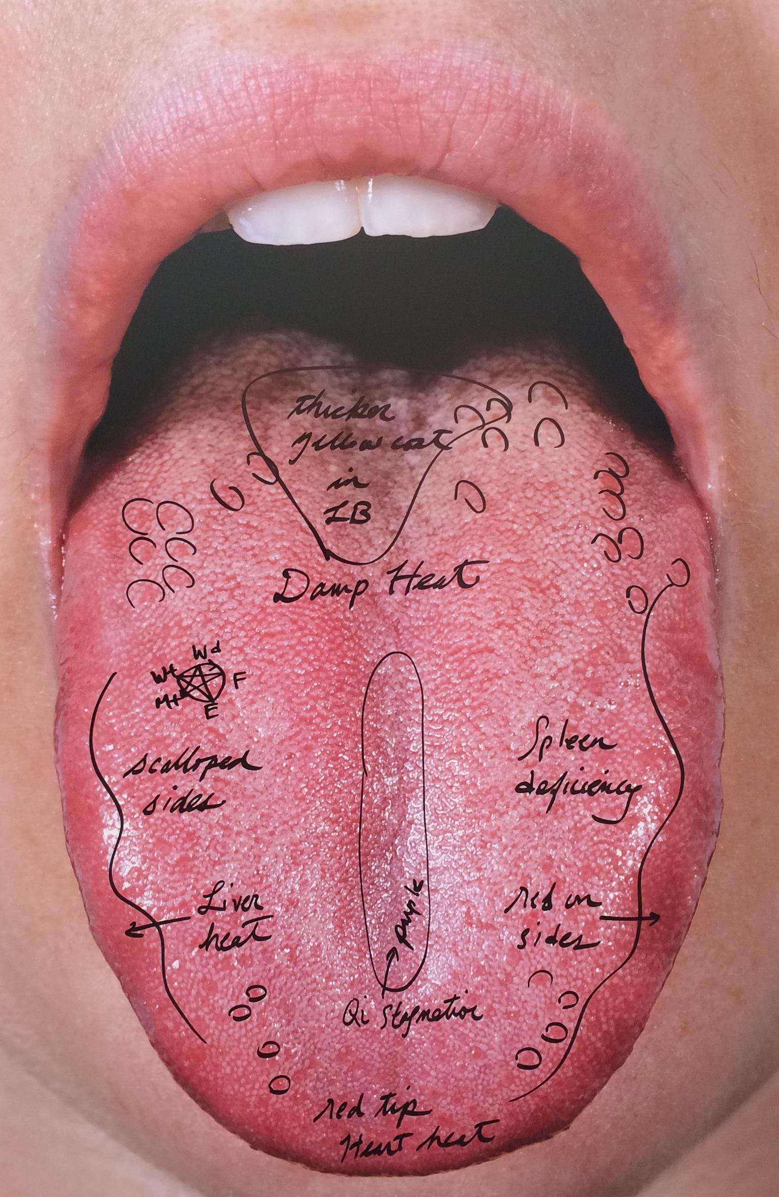 Carissa Rodriguez,It's Symptomatic / What Would Edith Say, (2015), tirage chromogène monté sur aluminium, 152,4 x 101,6 cm.Galerie Karma International.