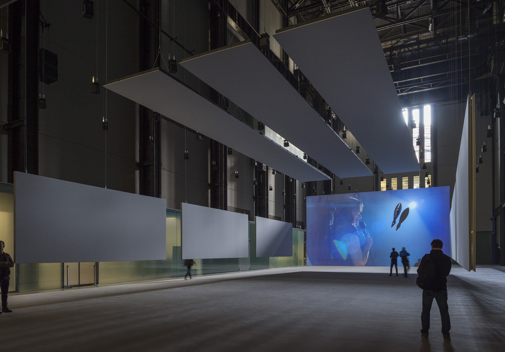 Installation view of Hyundai Commission 2016: Philippe Parreno:Anywhen, 2016 Photo credit: Tate Photography