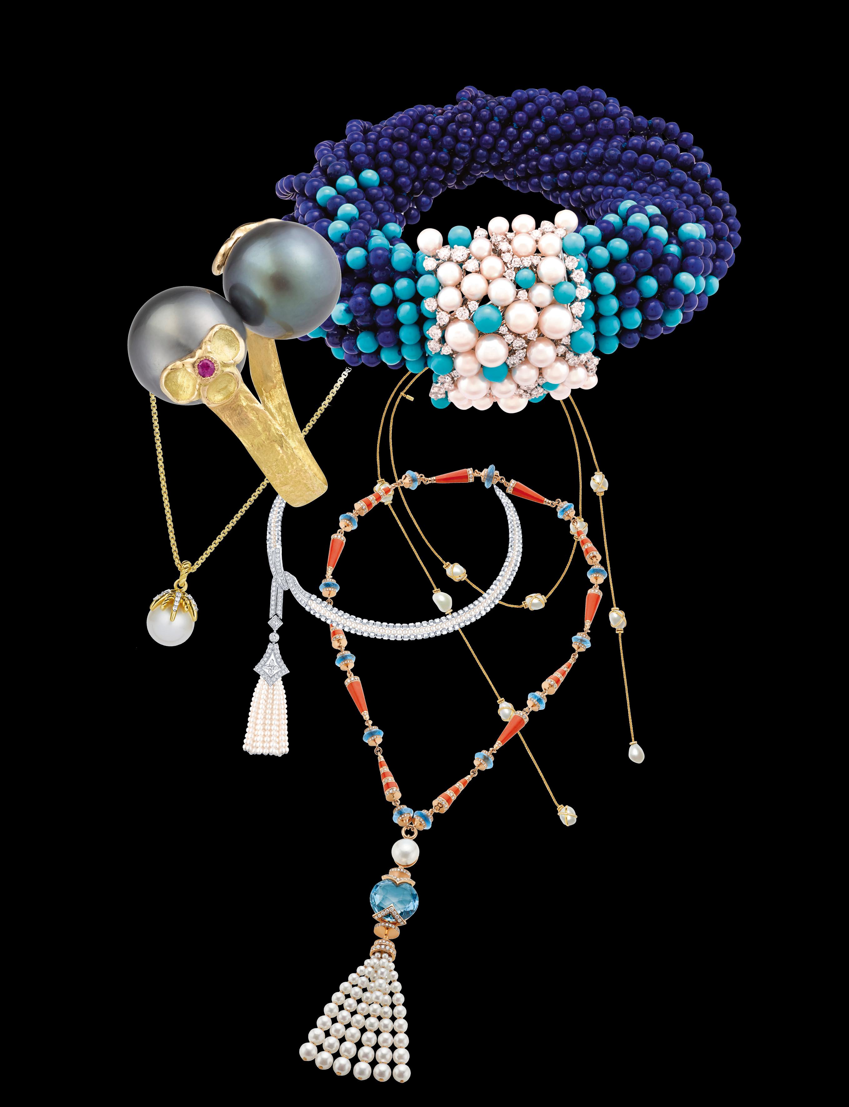 La sélection joaillerie du mois: l'empire des perles