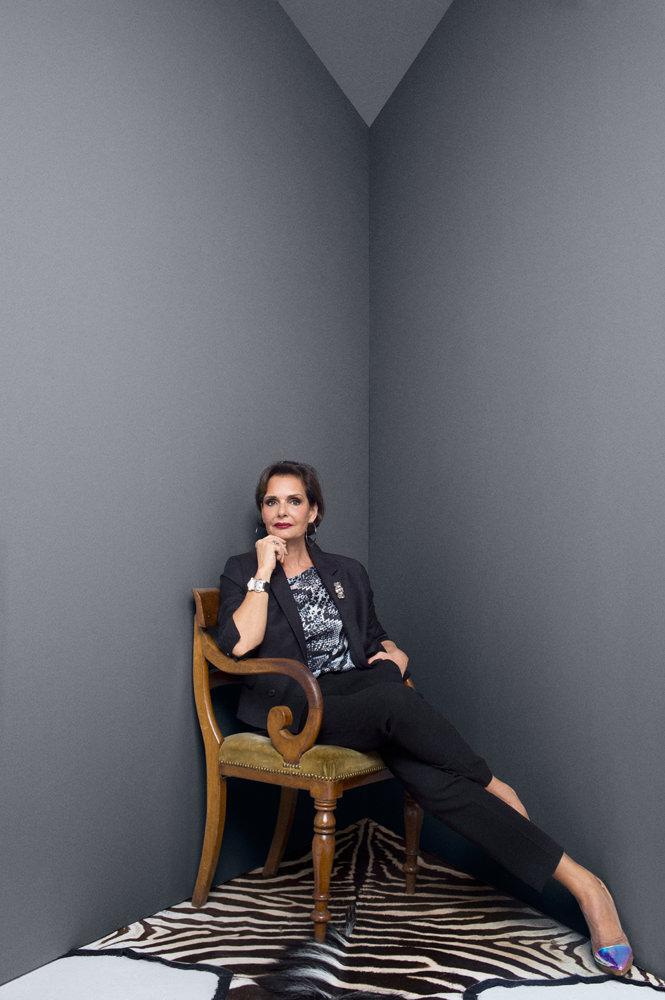Maria Luisa photographiée par Olivier Zahm.
