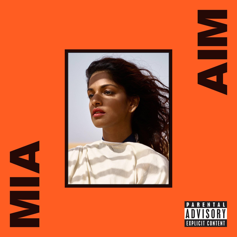 """La pochette de son nouvel album """"A.I.M"""""""