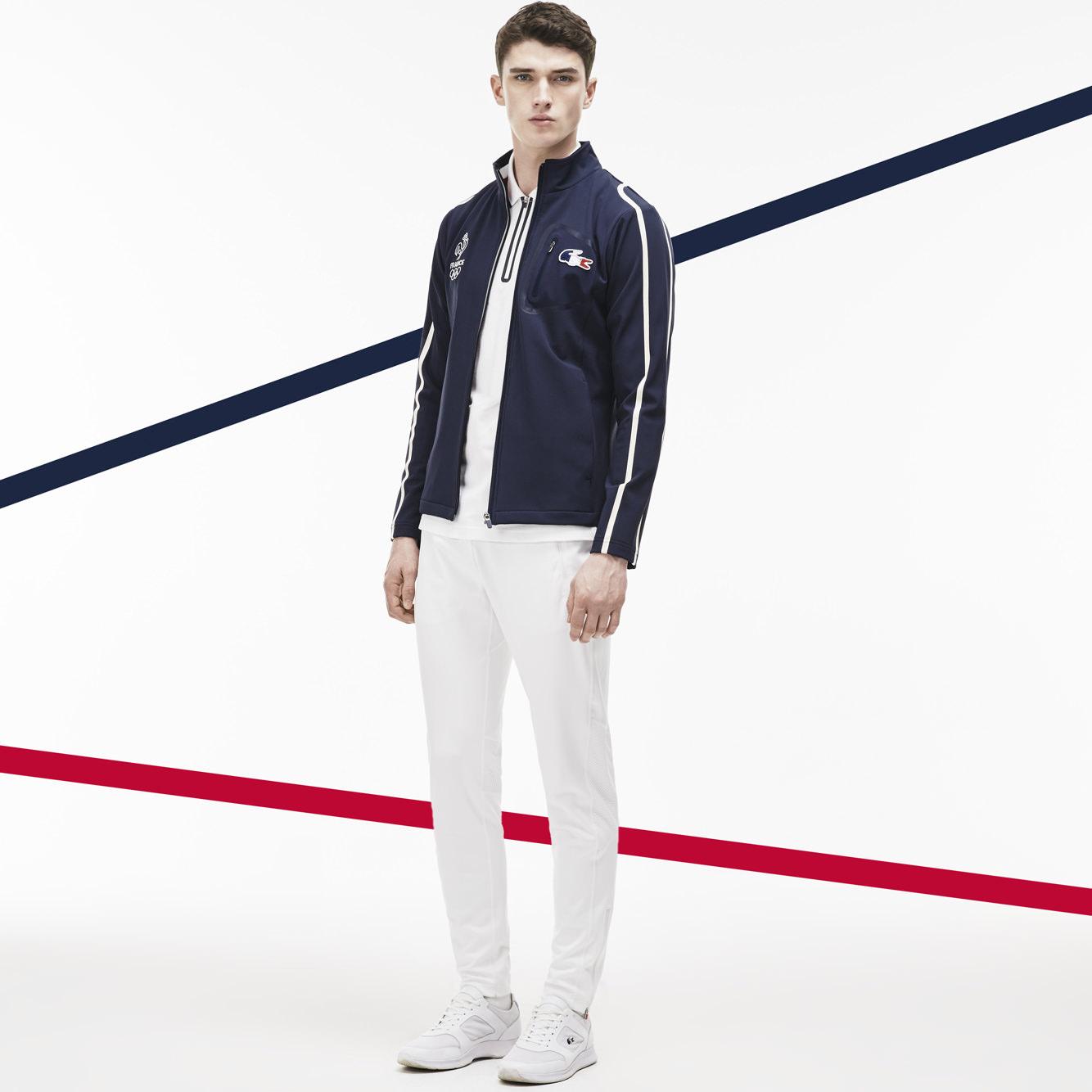 À quoi ressemblent les tenues françaises des jeux Olympiques 2016 de Rio par Lacoste ?
