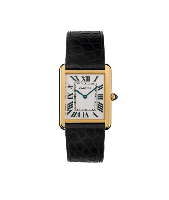 Our selection of rectangular-shaped dial watches