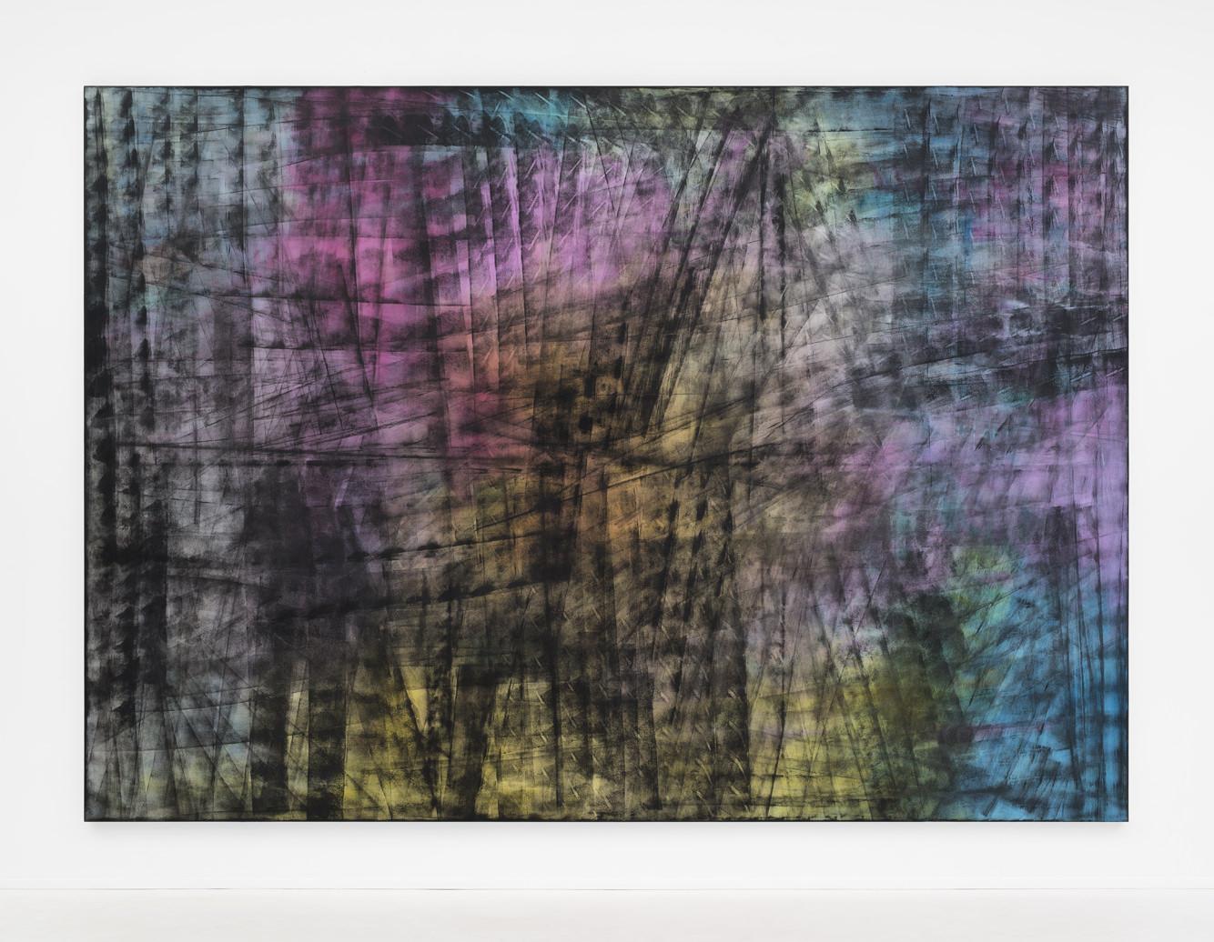 Jean-Baptiste Bernadet, artiste virtuose de la couleur exposé galerie Almine Rech à Bruxelles