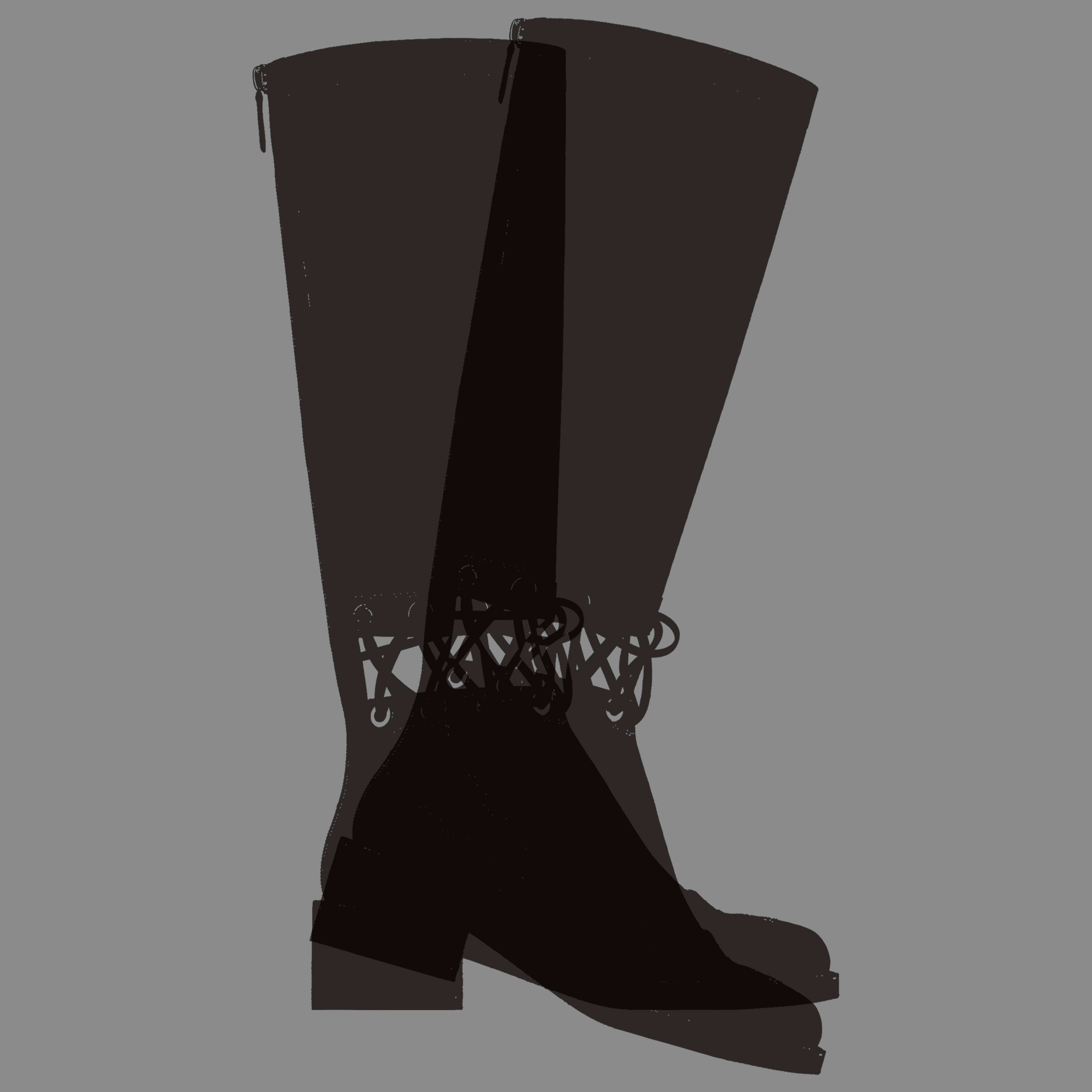 Fetish object of the week : Autumn-Winter 2016 Chanel boots
