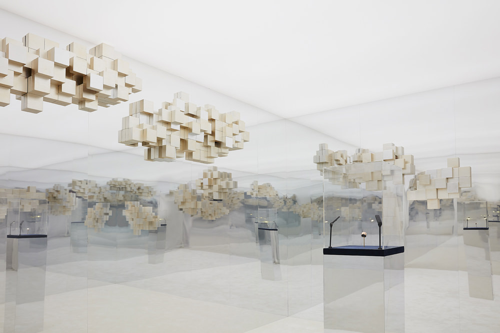 """The fascinating and magical  """"Radiant Room"""" by Mathias Kiss for Boucheron"""