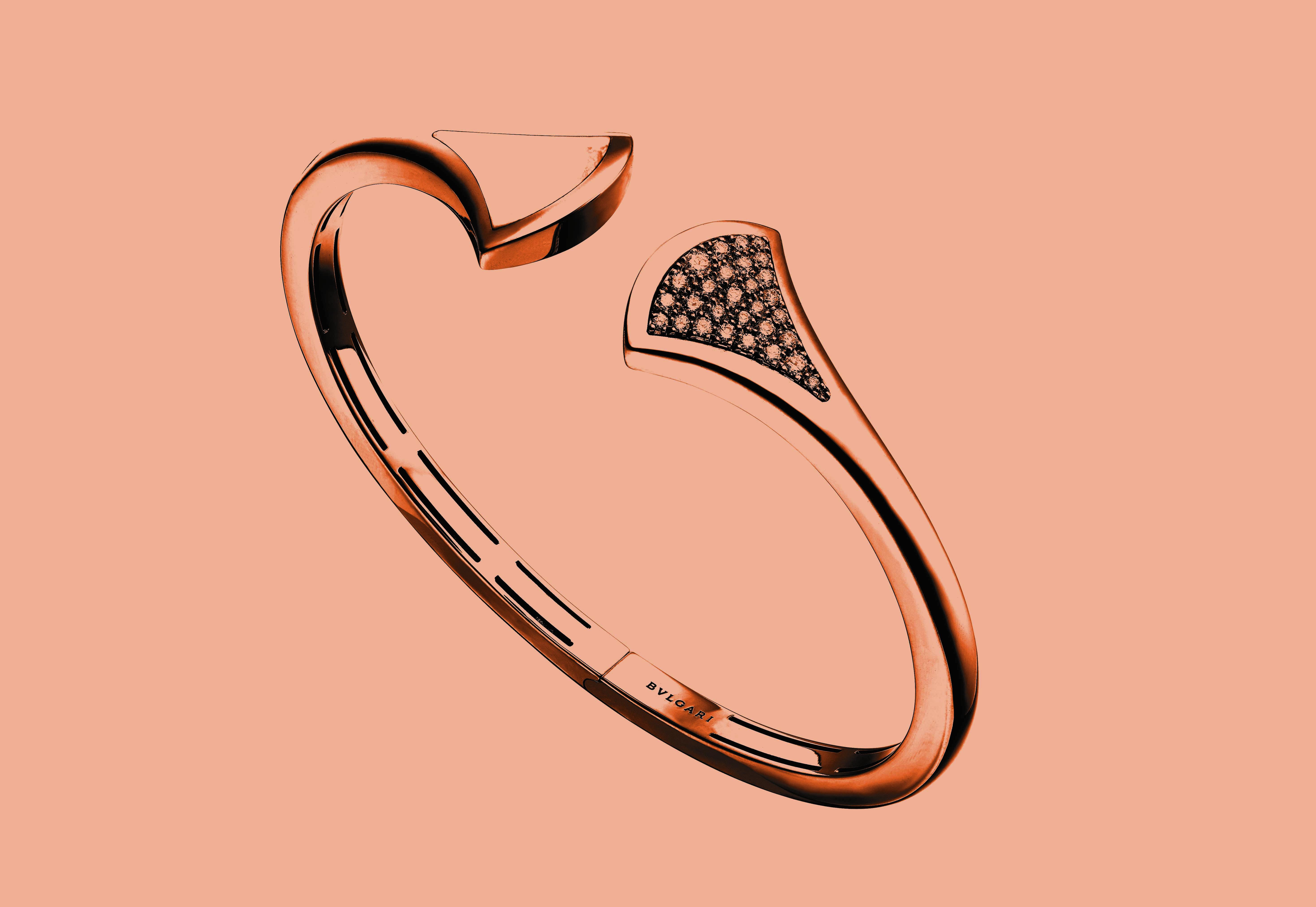 "Le bracelet ""Divas' Dream"" de Bulgari"