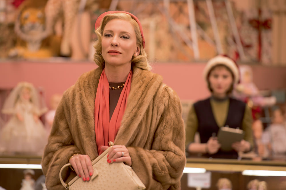 """Carol"" a poignant and lyrical movie with Cate Blanchett and Rooney Mara"