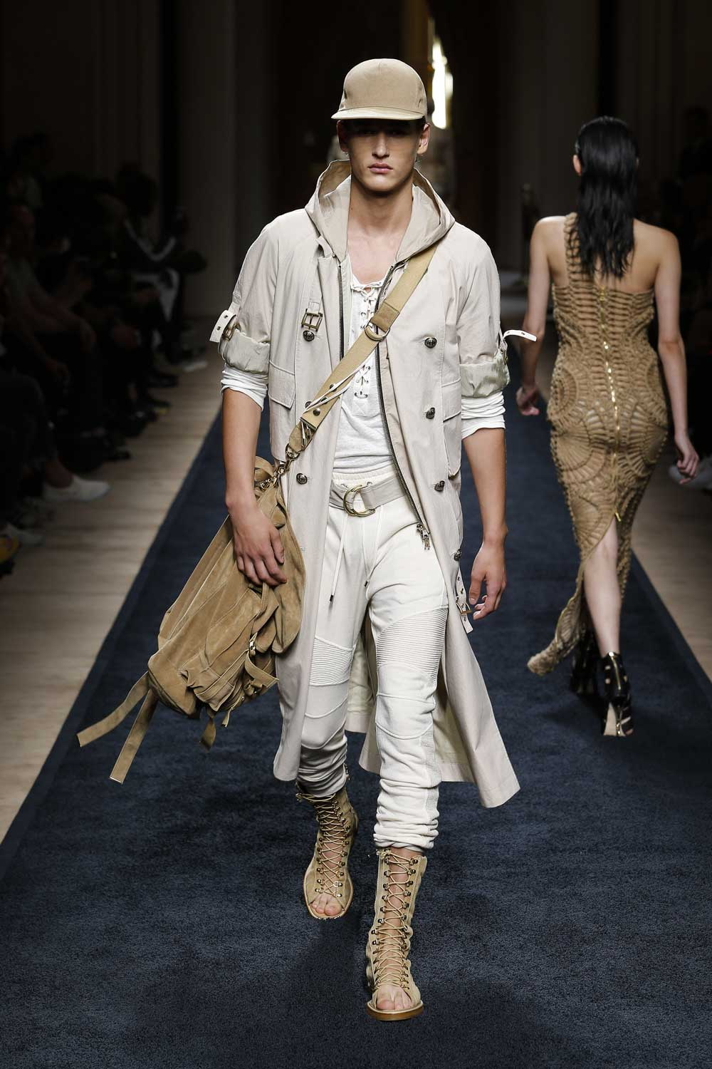 Rendez vous with Olivier Rousteing following his first runway show for Balmain