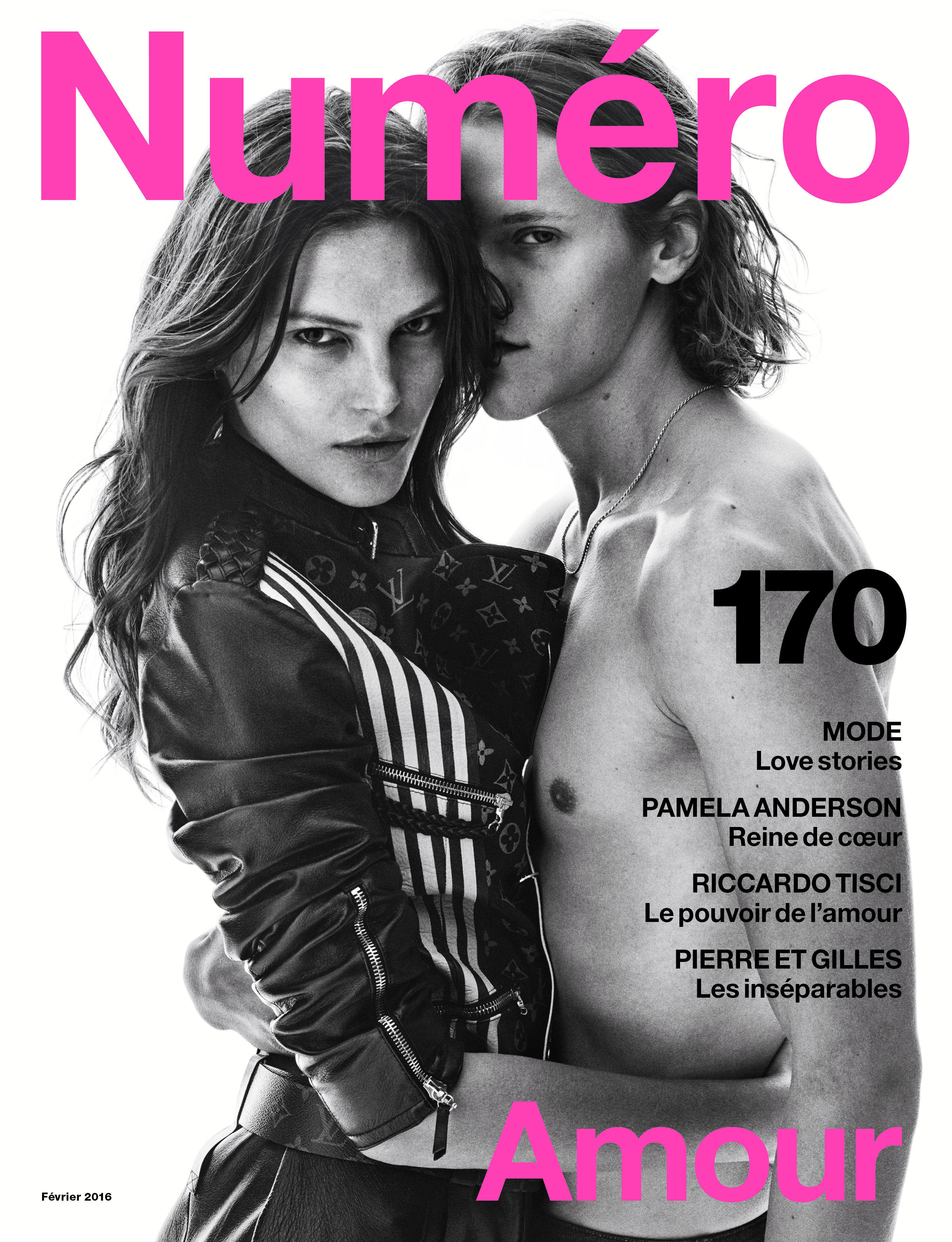 Cover Love Story : Catherine McNeil and Ryan Keating photographied by Victor Demarchelier