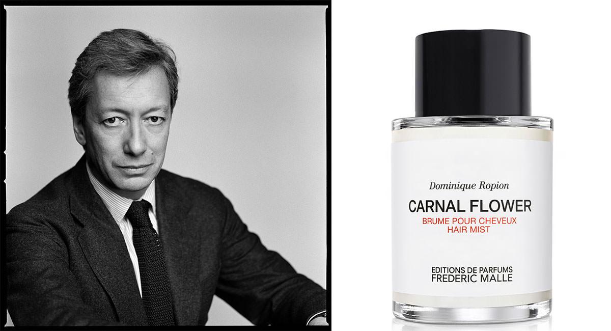 """""""Une crinière de fleurs blanches"""", signée Carnal Flower"""