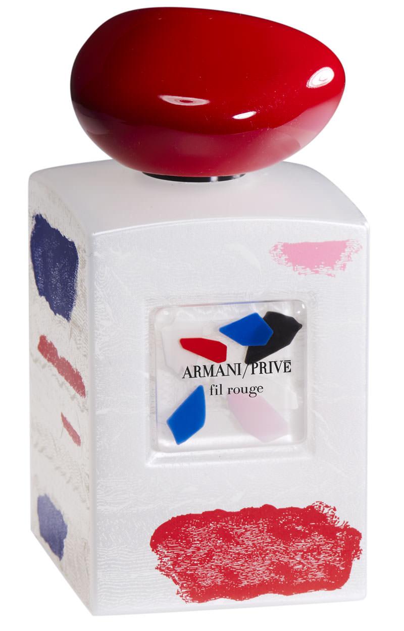 Giorgio Armani's new perfume based on iris