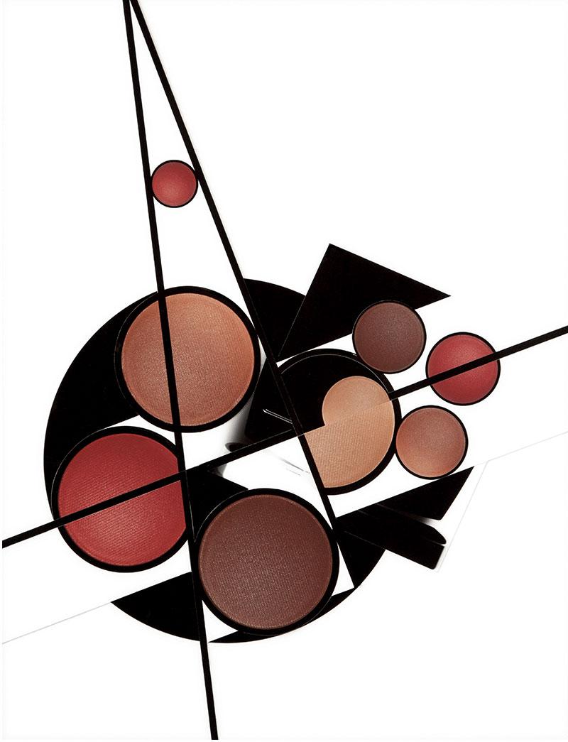 """""""Genèse"""", make-up palettes seen by Damien Blottière"""