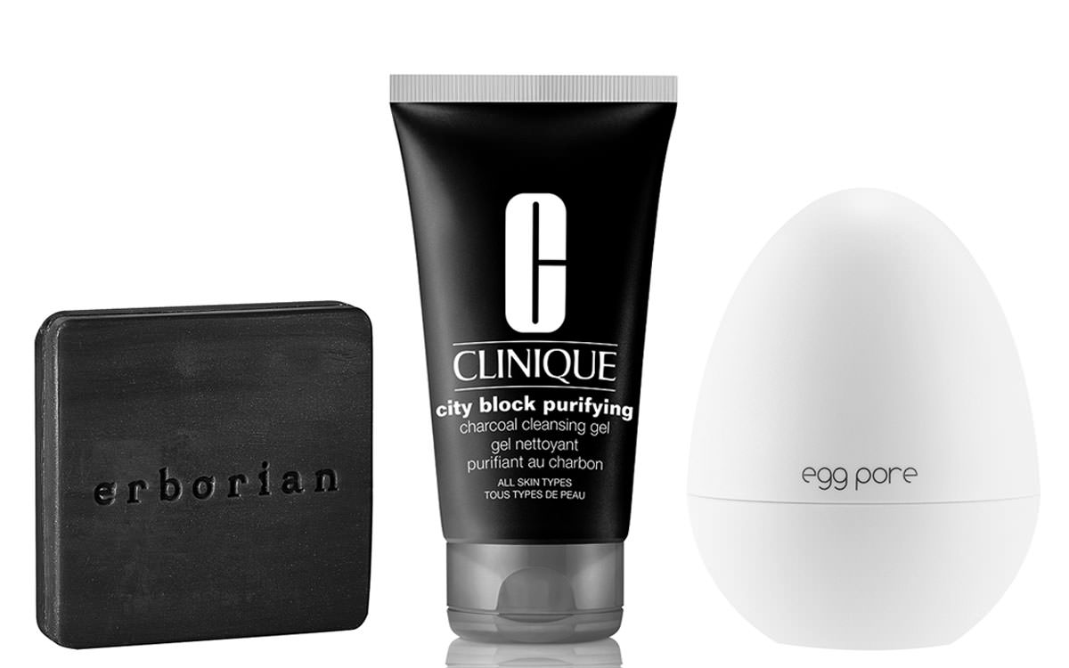 Coal care, keeping beauty pure with Clinique, Erborian, etc