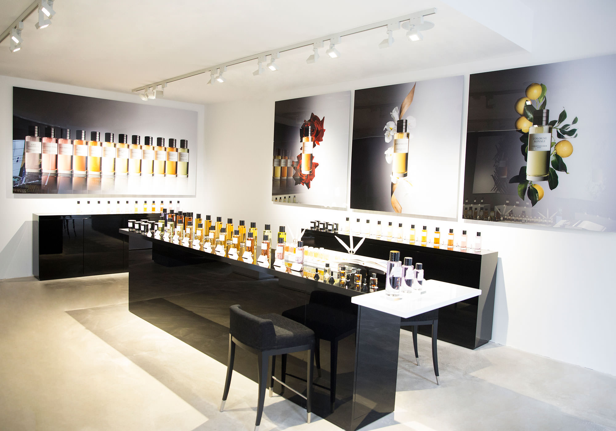 The ephemeral setting for Dior perfumes