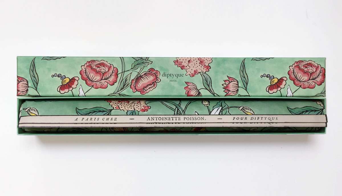 Crush of the week : the perfumed papers by Antoinette Poisson for Diptyque