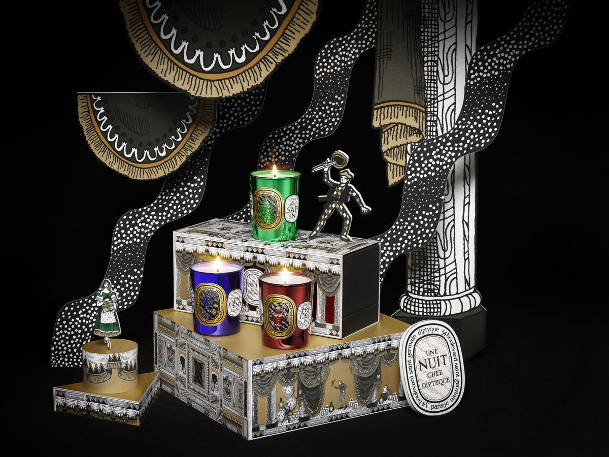 The collaboration of the week : Diptyque x Pierre Marie