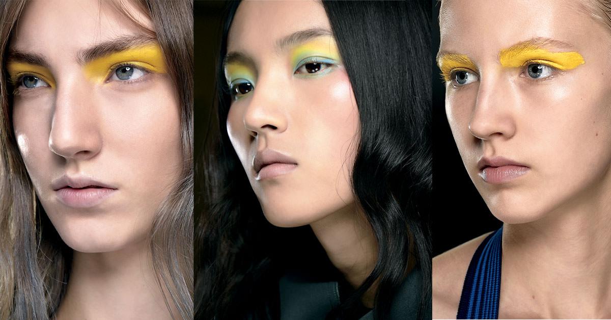 Make-up, la touche citron, absolument