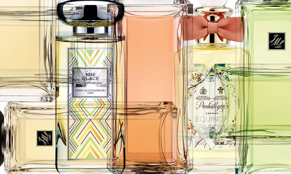 Perfumes celebrate tea