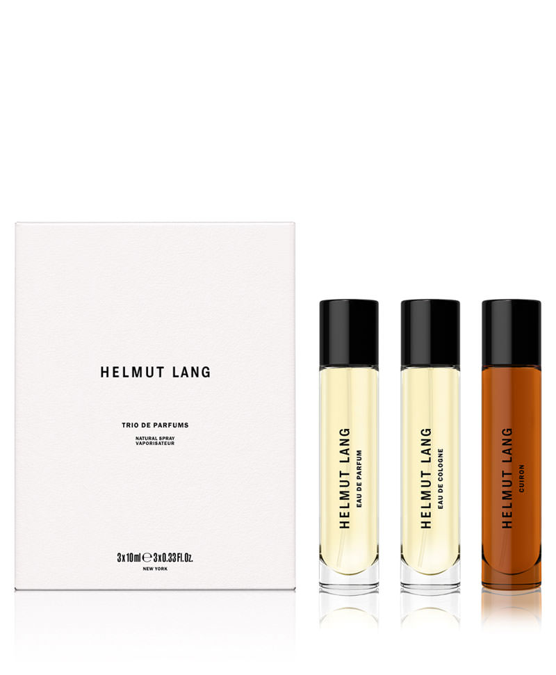 A journey through fragrance with Helmut Lang
