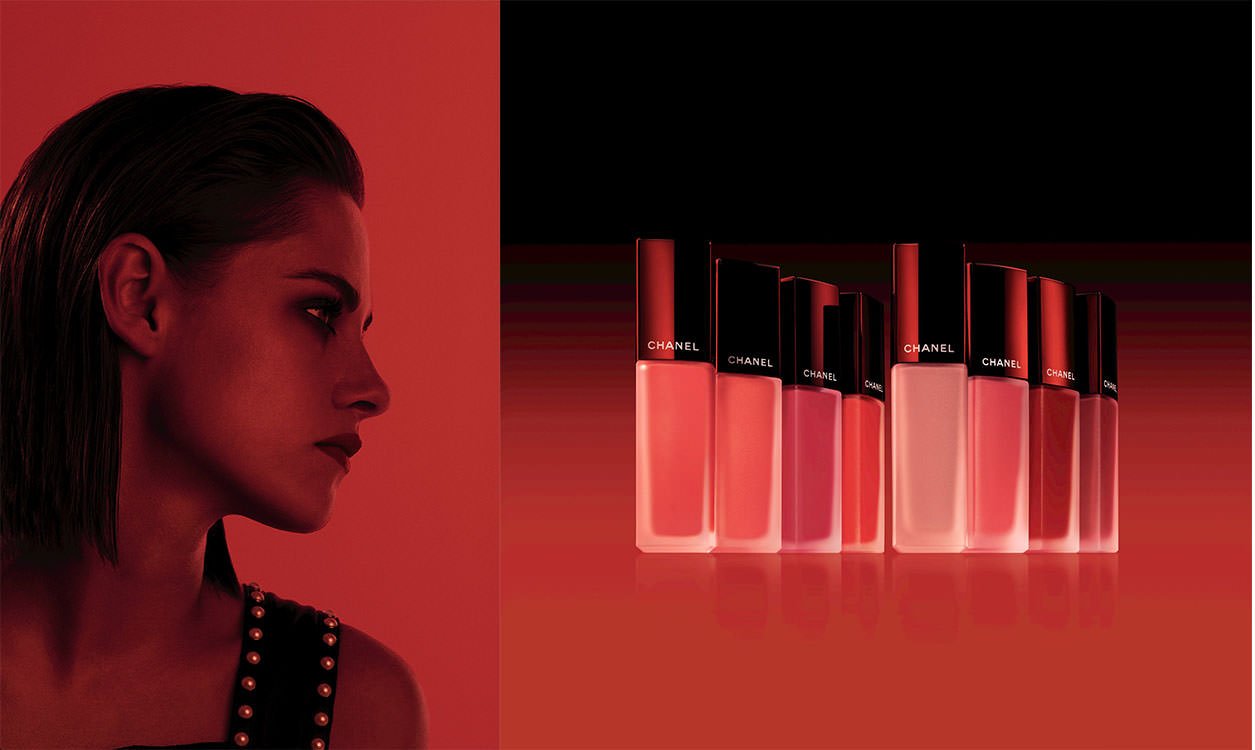 Crush of the week : the red ink by Chanel worn by Kristen Stewart