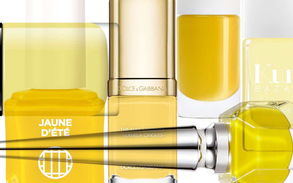 Our summery yellow nail polish best of