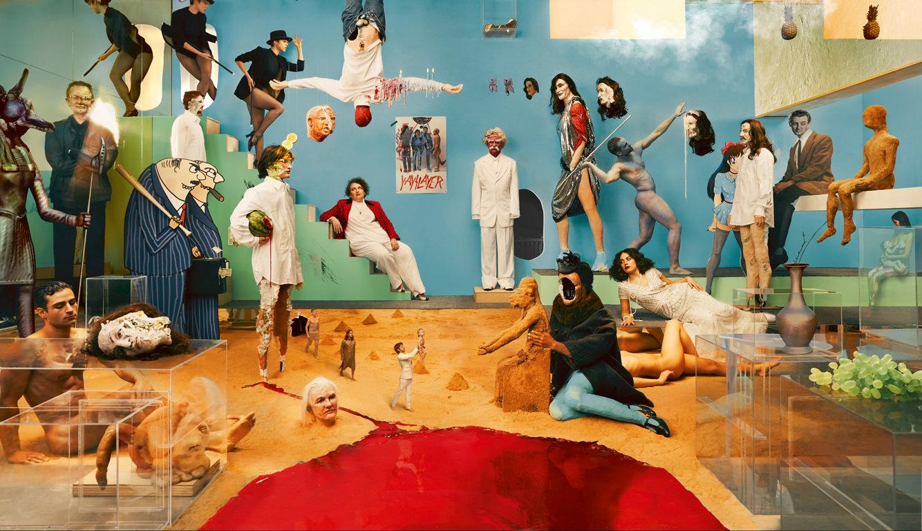 """L'artiste David Altmejd et le groupe Yeasayer : une collaboration fantastique pour l'album """"Amen & Goodbye"""""""