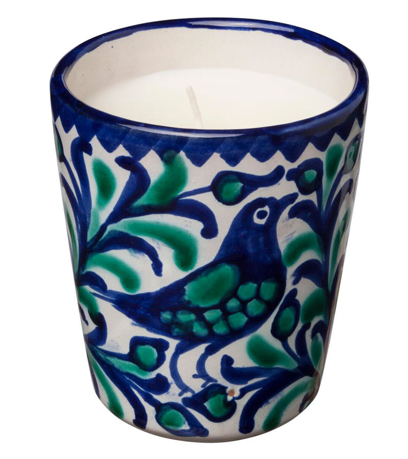 Casa Lopez's grass clippings candle