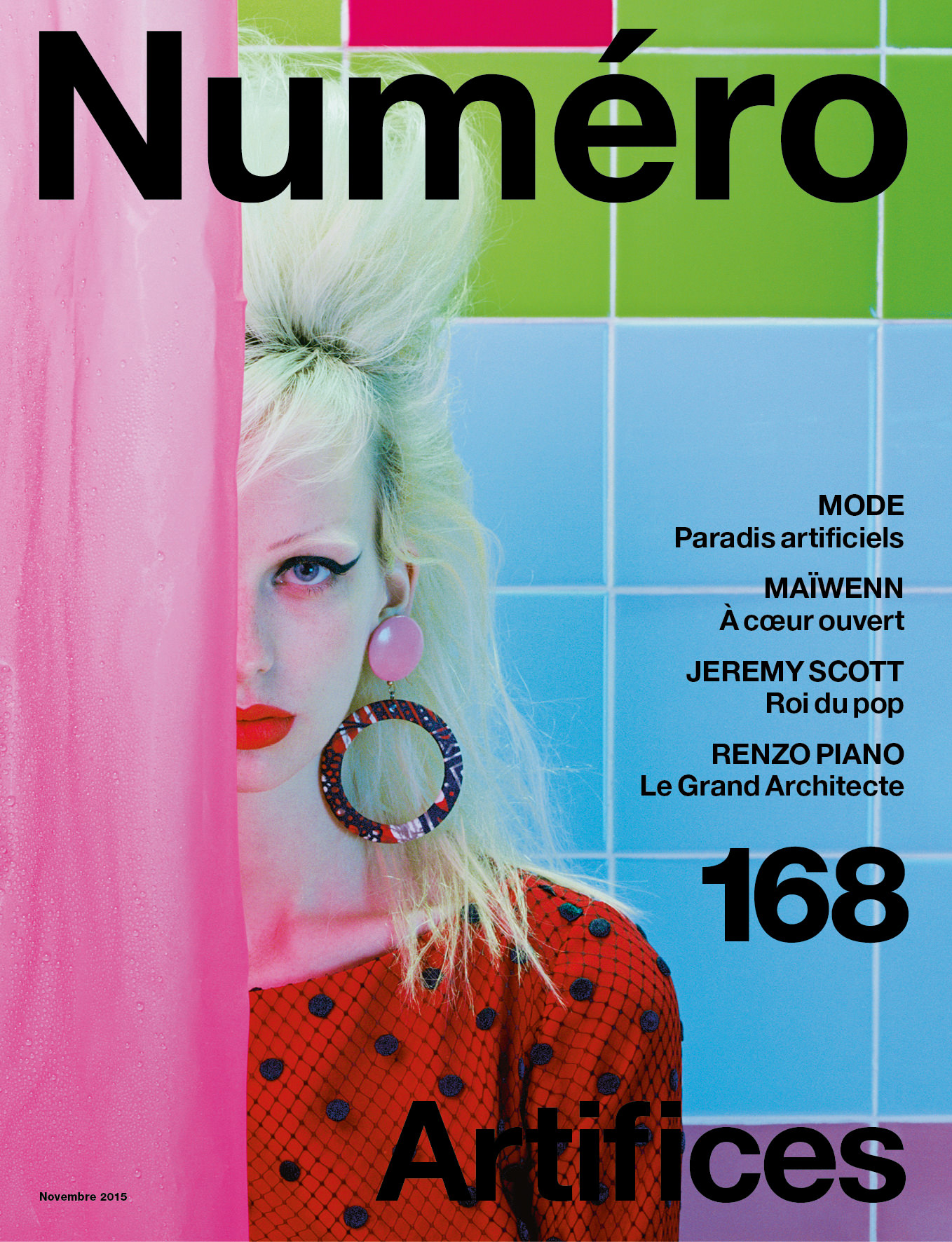 Cover story : Lili Sumner photographed by Miles Aldridge