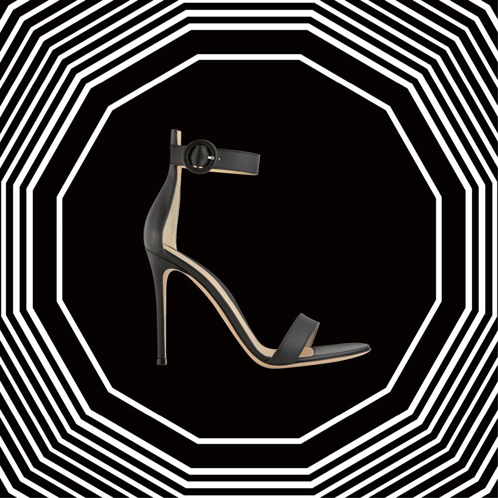 L'objet fétiche : la sandale épurée de Gianvito Rossi
