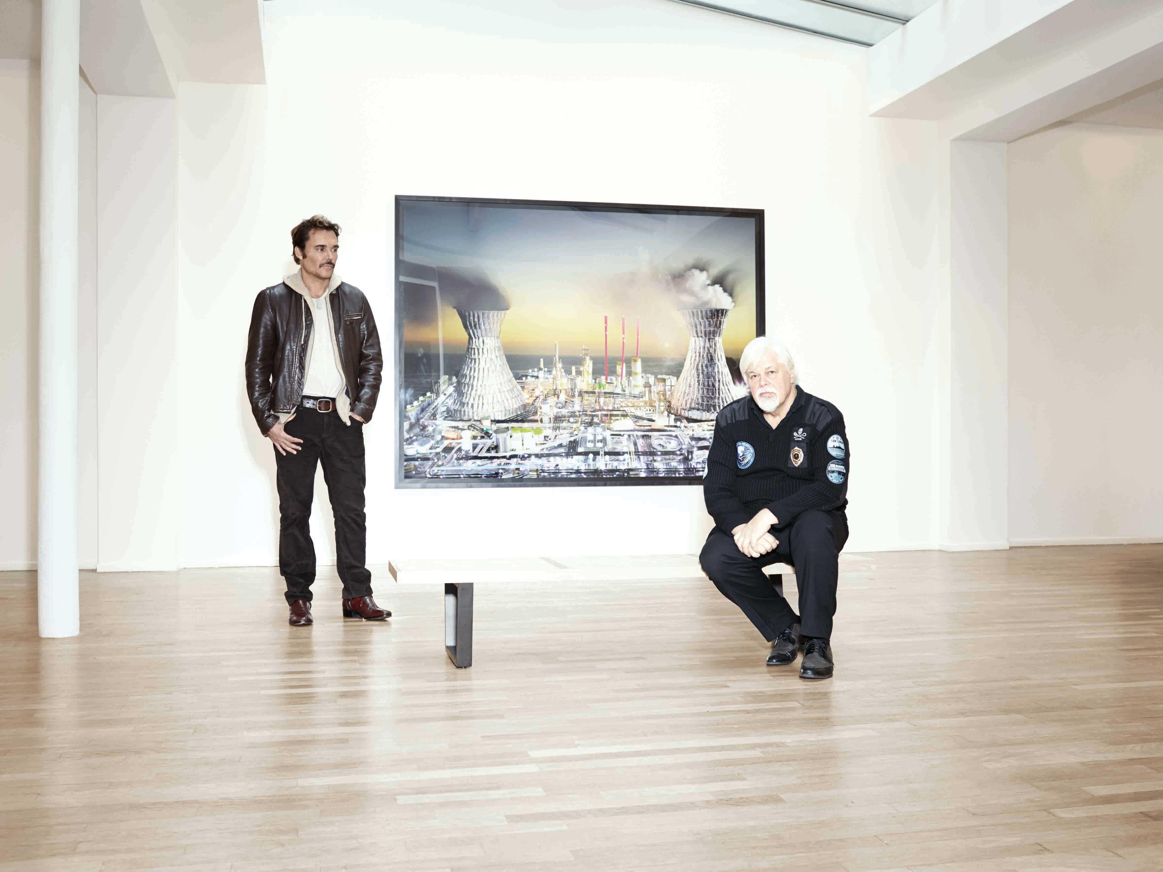 BEST OF 2015: Julian Schnabel, Paul Watson, David LaChapelle and Cyrill Gutsch... 4 personalities fighting for a better world