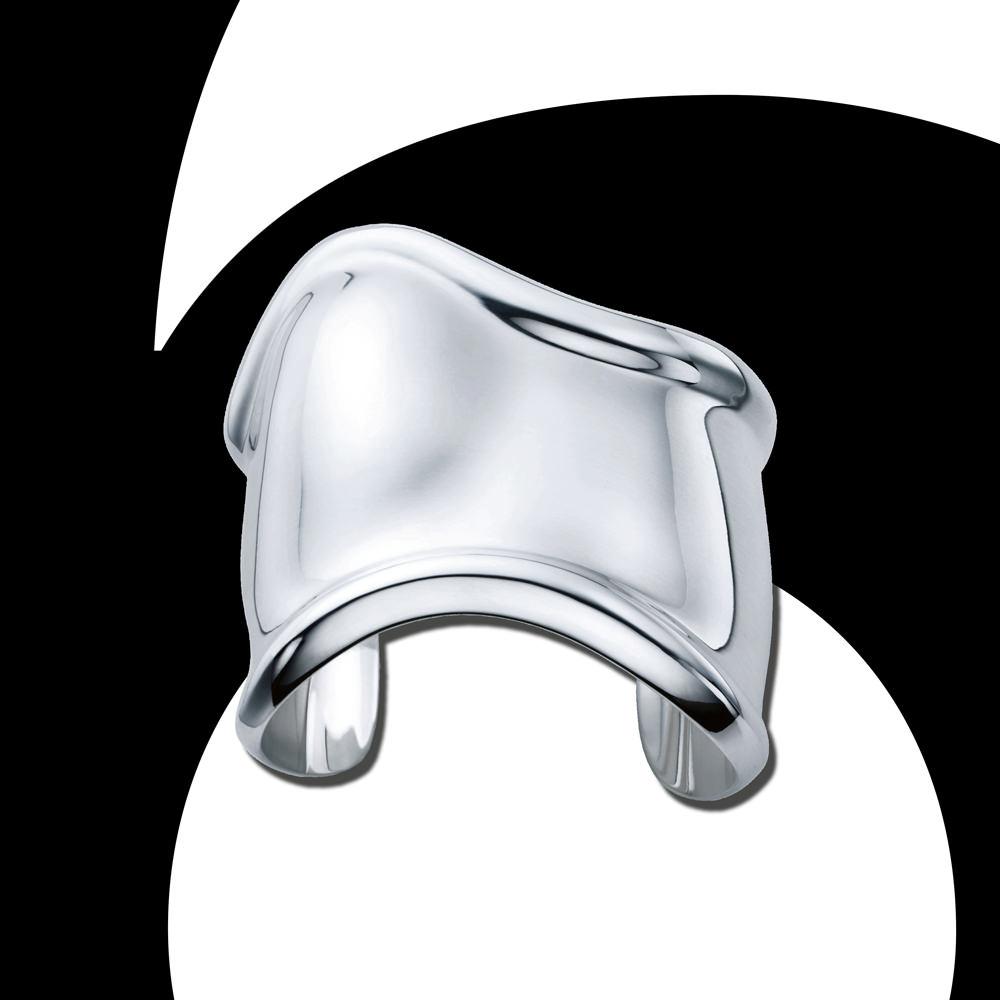"""Fetish object: """"Bone"""" cuff by Elsa Peretti for Tiffany & Co."""