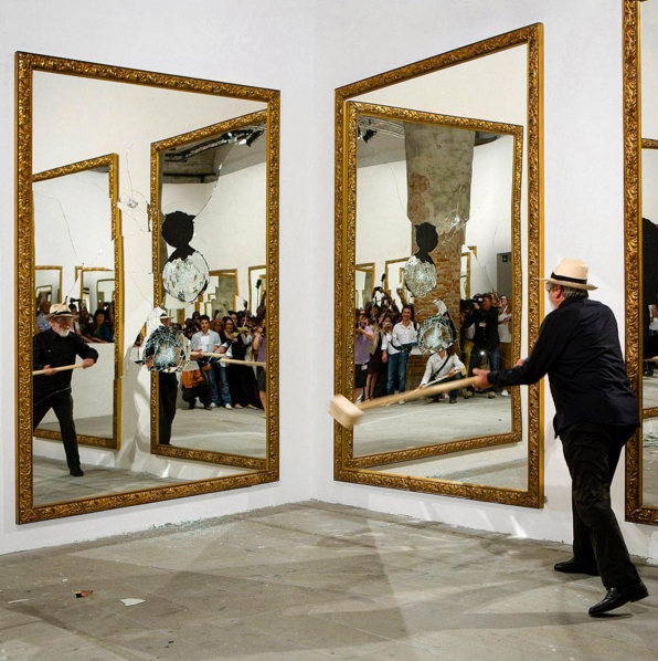 À la VNH Gallery, Michelangelo Pistoletto brise la glace