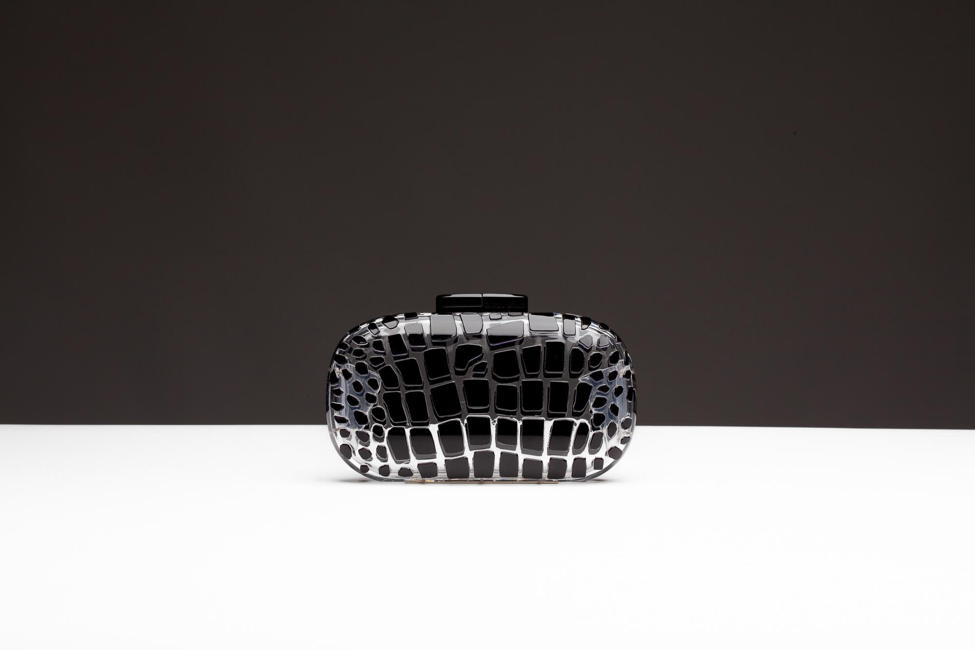 Fetish object of the week: Giorgio Armani Plexiglas clutch