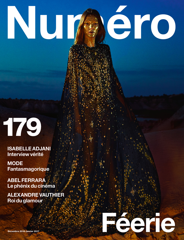 Isabelle Adjani, Alexandre Vauthier, Abel Ferrara, Guido Mocafico, Olivier Assayas... Discover the guests from Féérie, the December issue of Numéro